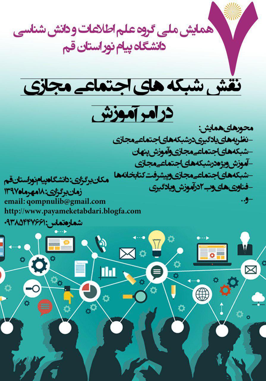 نقش شبکه های اجتماعی مجازی در امر آموزش