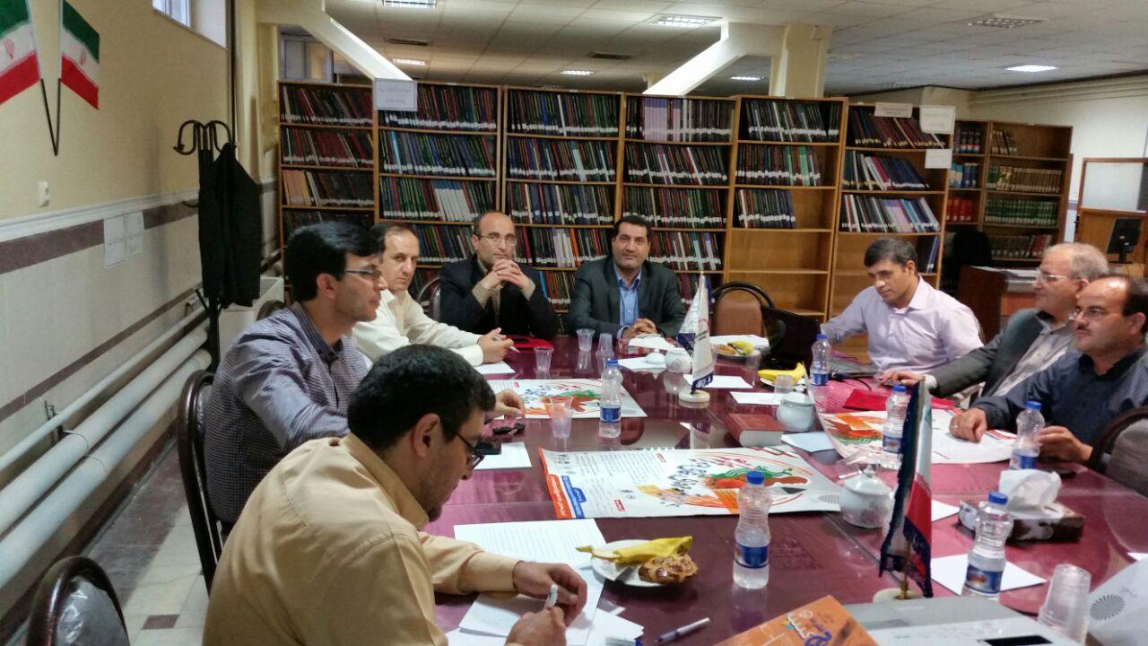 جلسات هماهنگی همایش با حضور مدیر کل محترم آموزش و