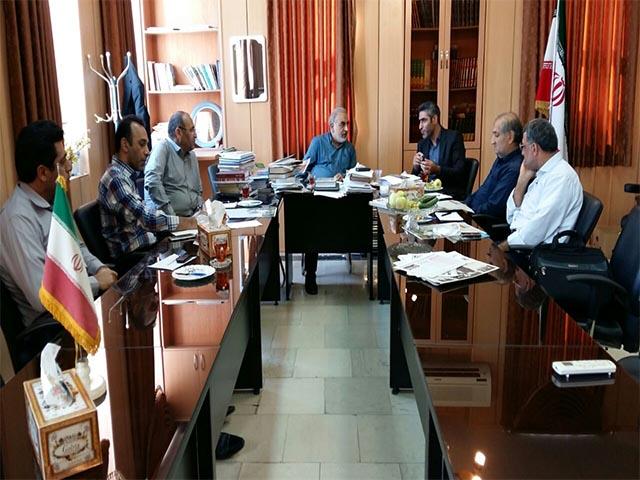 جلسه هم اندیشی اعضا کمیته علمی همایش هزارجریب